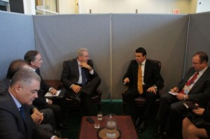 FM Poposki Meets Greek Counterpart Avramopoulos